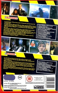 The UK VHS release, Vol. 1